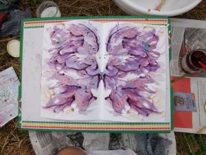 Peinture végétale