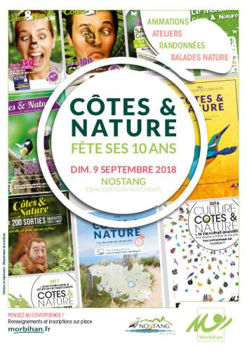 Animations nature dimanche 9 septembre à Nostang pour les 10 ans de Côtes et Nature