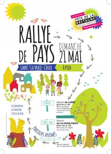 Rallye de Pays sur Larré/La Vraie-Croix dimanche 21 mai