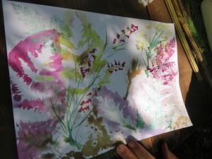 peinture vegetale